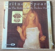 Britney Spears From The Bottom Of My Broken Heart RARE Collector NEW&SEALED CD