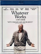 NEW BLU-RAY // WOODY ALLEN // Whatever Works // EVAN RACHEL WOOD , LARRY DAVID