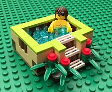 NEW LEGO Custom Jacuzzi or Hot Tub with Cool Dude - FAST SHIP