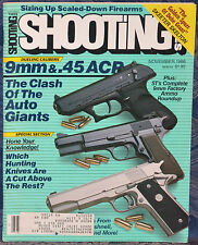 Magazine SHOOTING TIMES, November 1986 !!! MOSSBERG Model 1000 AUTO SHOTGUN !!!