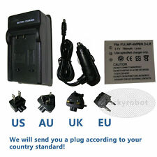 Camera Battery + charger for Fujifilm NP-40N FINEPIX Z2 Z3 Z5 F460 F470 Z1