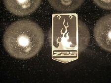 GM LICENSED, 93-02 CAMARO Z28 STAINLESS STEEL ETCHED FRONT NOSE EMBLEM, CHOICE