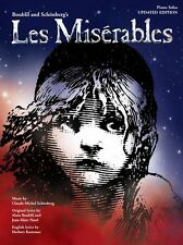 Les Miserables Mis Piano Solo Updated Version Play Musicals Keyboard Music Book