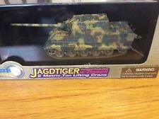 Dragon Armor  German JAGD-TIGER tank,with metric crane 1:72 scale. New.