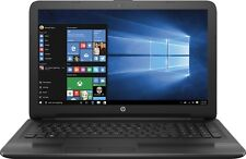 "NEW HP 15-BA009DX 15.6"" Laptop AMD A6-7310 4GB RAM 500GB HDD DVD Win10 BLACK"