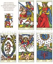 Tarot of Marseille New Sealed Cards Deck English Oracle 78 Fortune Telling