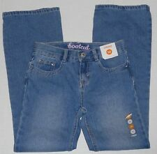 GYMBOREE Girl's Rhinestone Accent Boot Cut Light Wash Jeans Size 10
