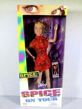 NIB BARBIE DOLL SIZE SPICE GIRLS ON TOUR GALOOB GERI GINGER SPICE
