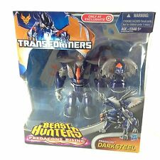Transformers Beast Hunters Voyager/DARKSTEEL Predacon Target Exclusive