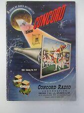 1948 CONCORD RADIO Catalog No 9-47; Radios, Phonographs, Parts, Receivers etc
