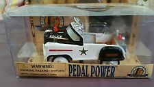 Pedal Power Police Car.