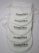 AUTHENTIC PANDORA ANTI TARNISH POUCH LOT OF 5! KEEPS SILVER TARNISH FREE!