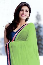 Bollywood Hiropantti Georgette Saree With Velvet Blouse