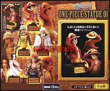 ONE PIECE APPENDIX STATUE BUST 01 Gashapon Full Set BANDAI Luffy Boa Hancock