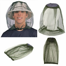 Midge Mosquito Insect Hat Bug Mesh Head Net Face Protector Travel Camping LO