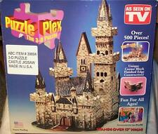 AMAZING 3-D CASTLE PUZZLE FROM PUZZLE PLEX