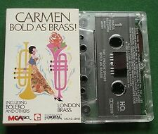 London Brass Carmen Bold As Brass inc Bolero + Pie Jesu + Cassette Tape - TESTED