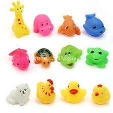 Set 12x Colorati Animali Giocattoli Acqua Bambini Interessante Giochi Bagnetto