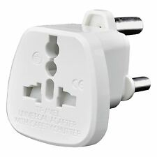 UK USA US EU AU Australia Switzerland to South Africa Mains Travel Plug Adaptor