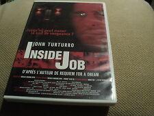 "DVD ""INSIDE JOB"" John TURTURRO"