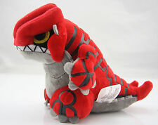 "6"" New Pokemon Center Plush Doll Groudon Stuffed Cute Toy US ship XMAS Gift Fast"