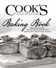 NEW Cook's Illustrated Baking Book by America's Test Kitchen Hardcover Cookbook