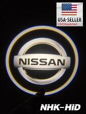 2x Car Door Logo Light LED Welcome Lamp for Nissan 350Z 370Z Armada ALTIMA