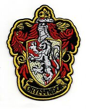 Harry Potter Gryffindor embroidered Patch 4 1/2 inches tall