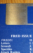 SAM COUPE VINTAGE SOFTWARE- FRED MAGAZINE- ISSUE 56- MANY ISSUES AVAILABLE