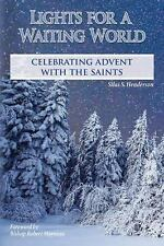 Lights For A Waiting World Celebrating Adent with the Saints Book NEW
