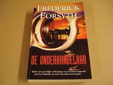 BOEK / DE ONDERHANDELAAR - FREDERICK FORSYTH