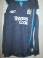 Manchester City 2005-06 no15 Away Football Shirt worn in reserve matches /6397
