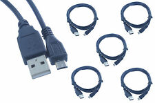5 Pack Lot 1.5FT USB2.0 A to Micro B Data Charger Cable(U2A1-MCB-015-5PK)