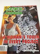 Vintage Magic Crochet Magazine Back Issue - December 2001, Number 135