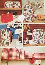 RARE CUT VINTAGE 1972 SIMPLICITY KITCHEN APPLIANCE COVERS SEWING PATTERN 5495