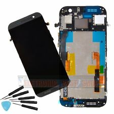 LCD display Touch Screen Digitizer Replacement for HTC ONE M8 With Frame
