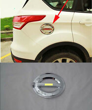 Fuel Oil Tank Gas Cap Cover Trim Decoration for 2013-2015 Ford Escape Kuga