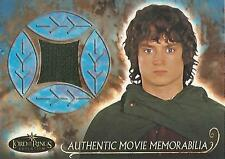 "Lord of the Rings Evolution - ""Frodo's Travel Cloak"" Memorabilia Costume Card"