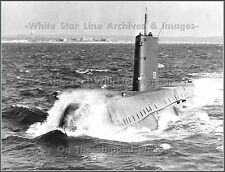 Photo: The 1st Nuclear Submarine: The USS Nautilus Heading Out To Sea, 1958