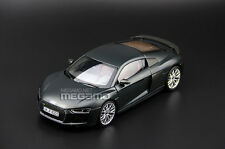 1/18 Audi R8 V10 Plus Coupe Dealer Edition Matte Gray i-SCALE