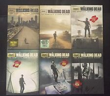 The Walking Dead Complete Seasons 1-6 1 2 3 4 5 6 DVD FREE SHIPPING NEW!