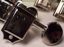 KLUSON DELUXE Tuners FENDER STRAT TELE Double Line 6 In Line Tuning Keys / Pegs