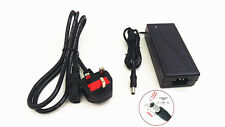 12V 5A 60W AC DC Adapter Power Supply+Power Cord, CCTV Cameras LED Strip Light