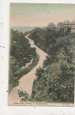 Alum Chine Looking South Bournemouth [JWS 180] 1906 J Welch Postcard 053b