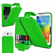 For Acer Liquid Glow E330 - Clamp Style PU Leather Flip Case Cover