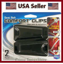 New 2 Clips Seat Belt Comfort Adjuster No Neck Tention Of The Seatbelt Car/Auto