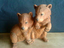 """Country Artists Brown Bear Pair """" Young and Headstrong """"  02318   7"""" HIGH"""