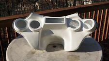 Harley Davidson Road King fairing 4 speakers batwing fairing white gel