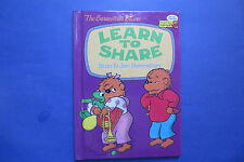 The Berenstain Bears Learn to Share by Stan Berenstain and Jan Berenstain (1992,