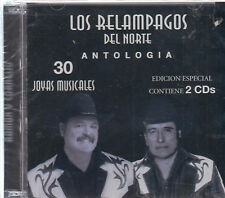 CD - Los Relampagos Del Norte New Antologia 2 CD -FAST SHIPPING